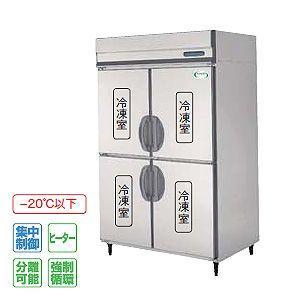 フクシマ 冷凍庫 薄型 幅1200×奥行650 内装ステンレス鋼板 インバーター制御タイプ IRN-124FMD3 840L 三相200V