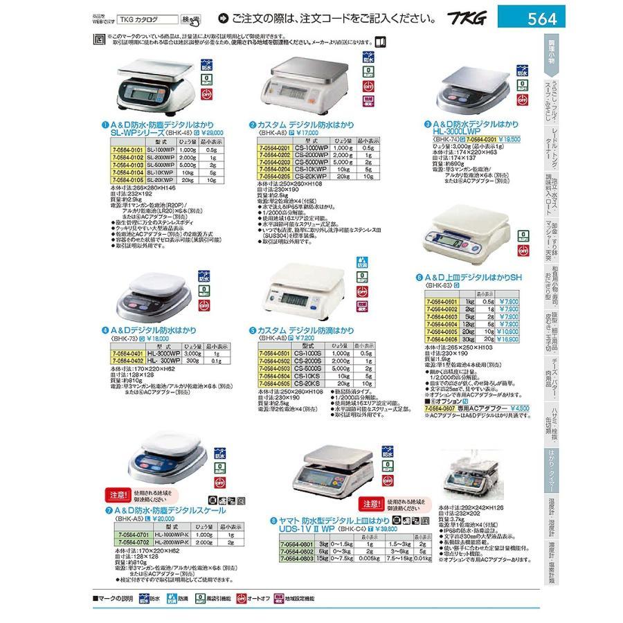ヤマト 防水型デジタル上皿はかり UDS-1VWP-6