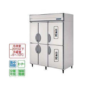フクシマ 冷凍冷蔵庫 厚型 幅1490×奥行800 内装ステンレス鋼板 URD-1562PMD3 冷凍室502L冷蔵室782L 三相200V