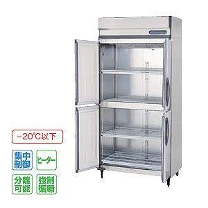 フクシマ 冷凍庫 薄型 幅900×奥行650 内装ステンレス鋼板 センターフリータイプ URN-094FM3-F 606L 単相100V