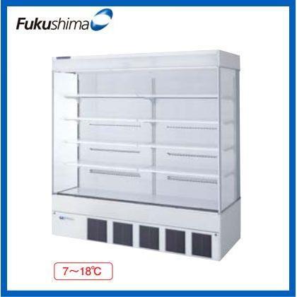 福島工業 フクシマ 冷凍機 内蔵型 多段 オープンショーケース MCU-65GKPOR-F