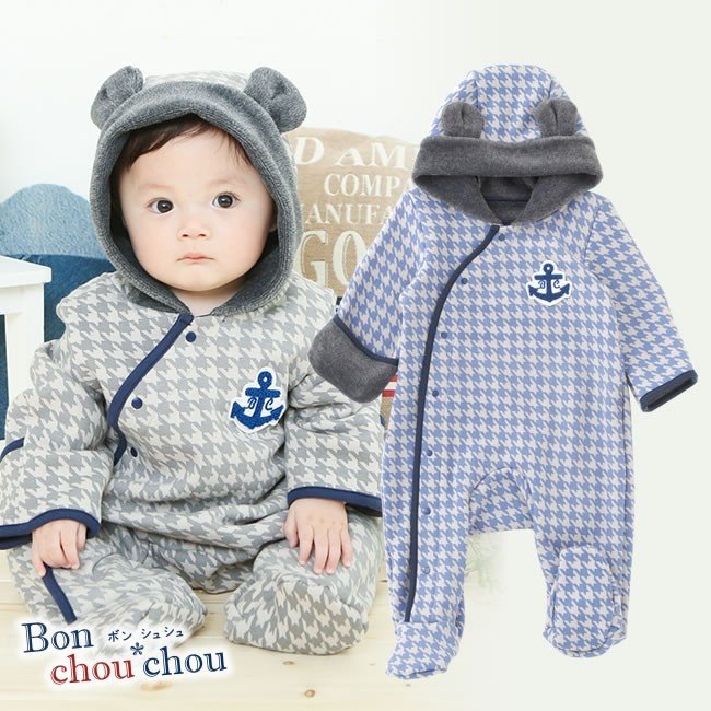 e2c475b102e38 ベビー服 赤ちゃん 服 ベビー カバーオール 男の子 50 60 70  ボン ...