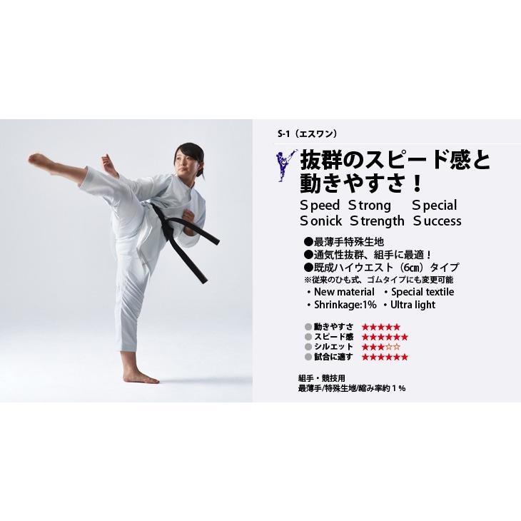 【S-1】3号(160cmサイズ)上下セット【東京堂インターナショナル空手衣】