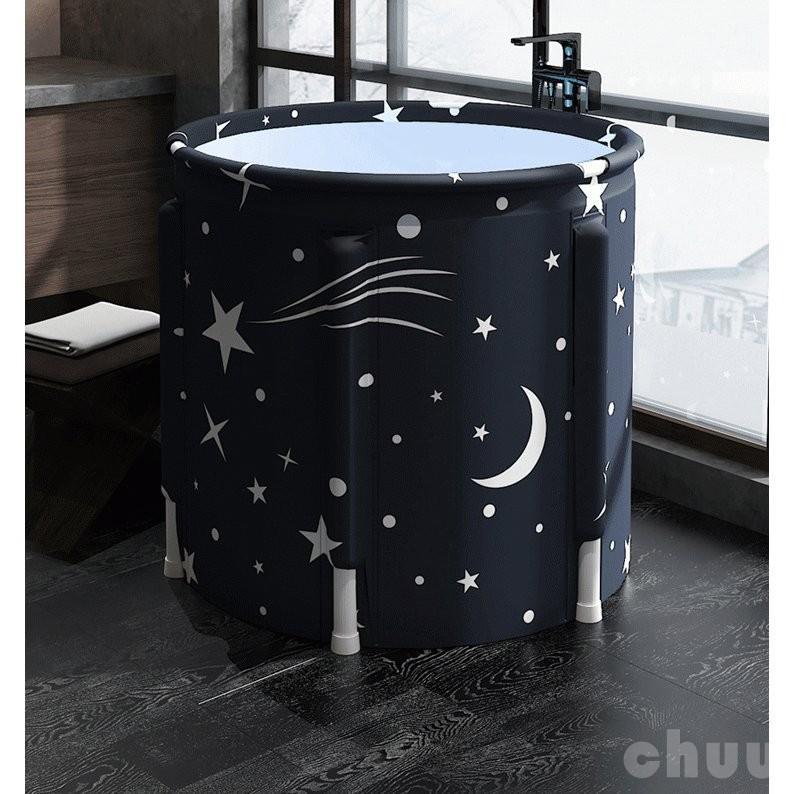 ポータブルバスタブ 折りたたみ浴槽  シャワールーム 水風呂 プール キャンプ  簡易浴槽 家庭用 浴槽 大人 子供|chuu-store|02