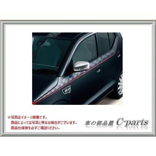 SUZUKI ALTO WORKS スズキ アルトワークス【HA36S】 サイドデカール【チェッカー】[99000-99035-V95]|chuwa-parts