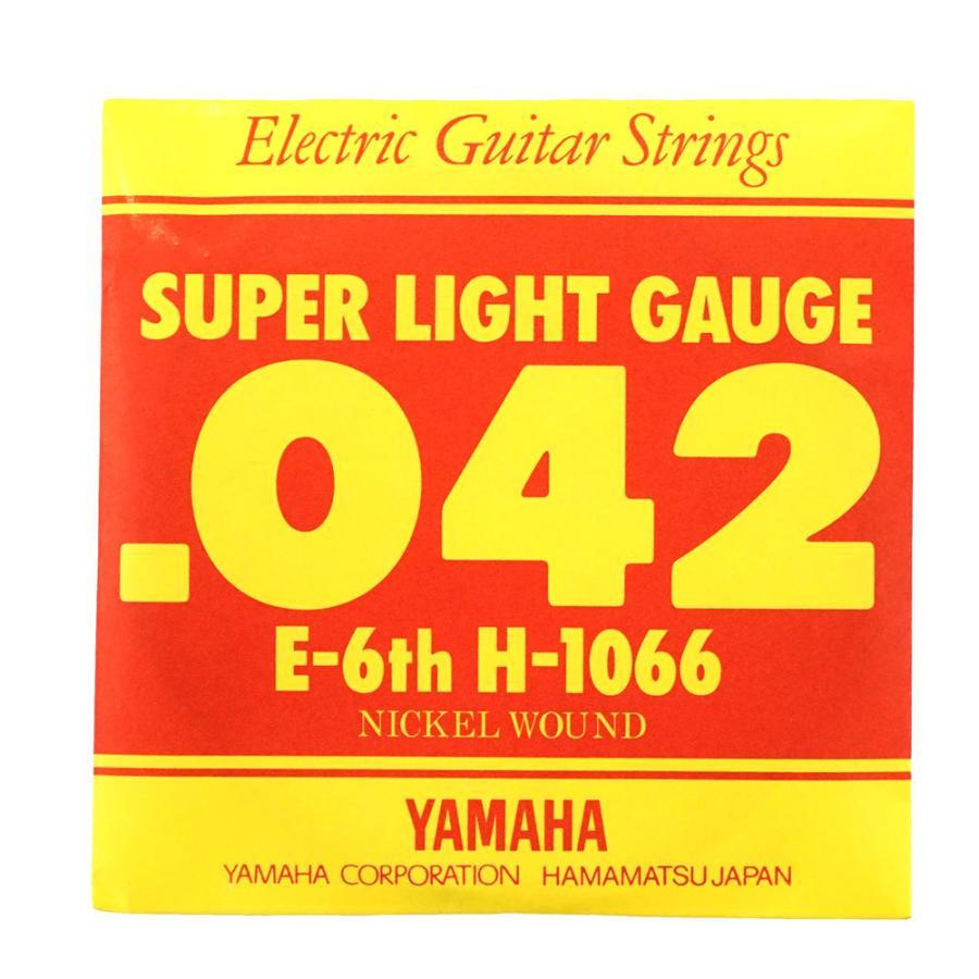 YAMAHA H1066 エレキギター用 バラ弦 6弦 品質保証 本物