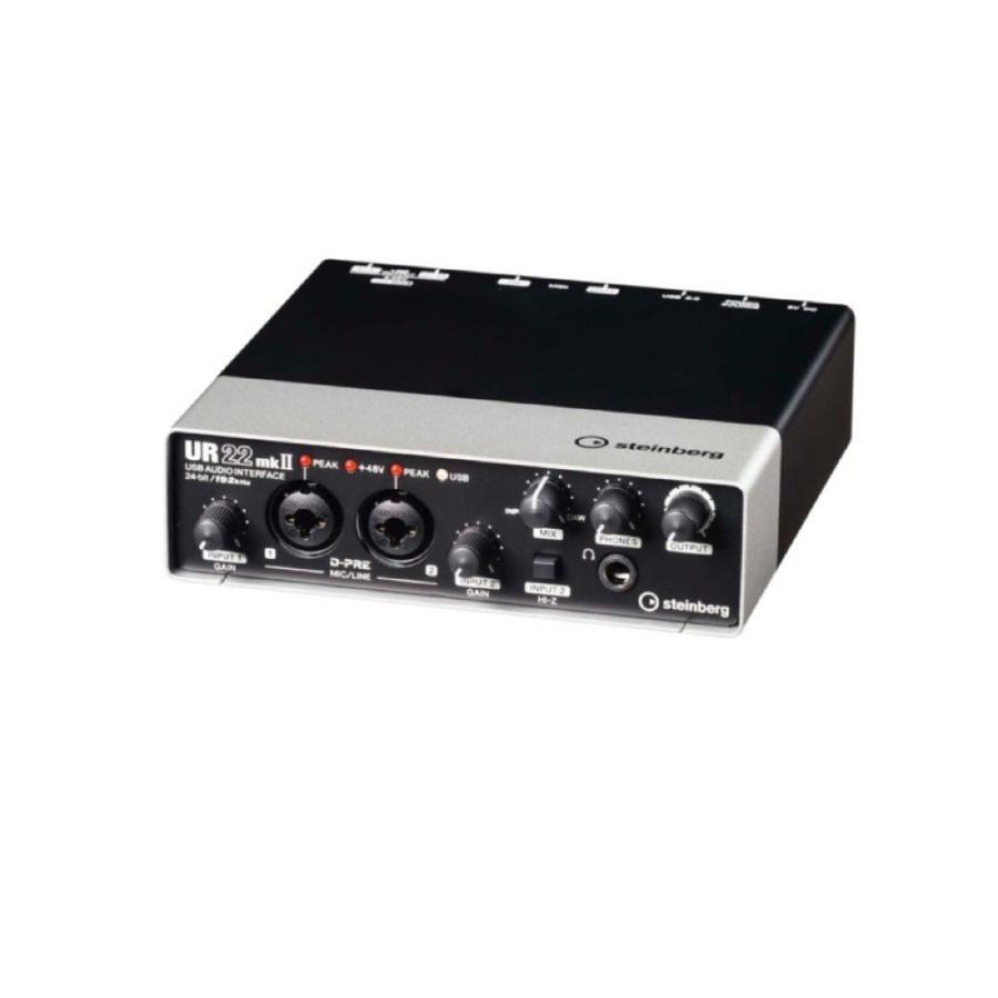 メーカー再生品 steinberg 買い取り UR22mkII 2x2 2.0 USB オーディオインターフェース