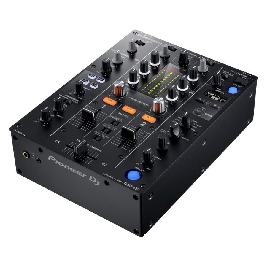 Pioneer DJM-450 ショップ DJミキサー 賜物