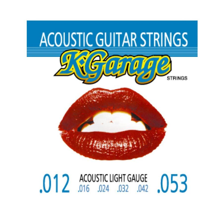 正規激安 K-GARAGE Acoustic 012-053 アウトレット☆送料無料 アコースティックギター弦