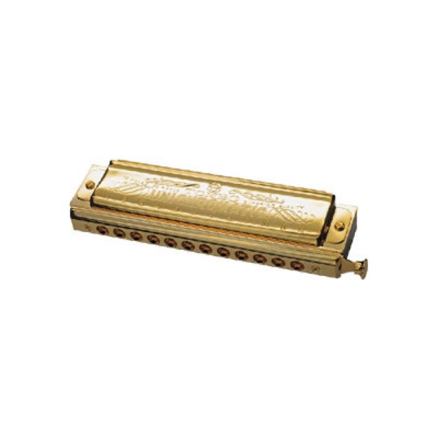 TOMBO NO.1248SG ユニクロマチックゴールド クロマチックハーモニカ