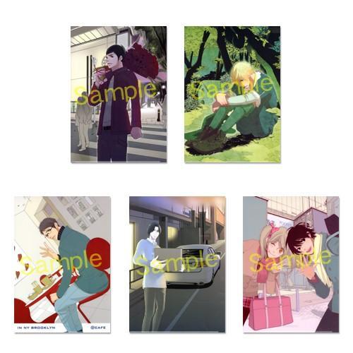 相原実貴原画展『ミキミックス』限定オリジナル「5時から9時まで」クリアファイル(A4判)5種 ciao-shop