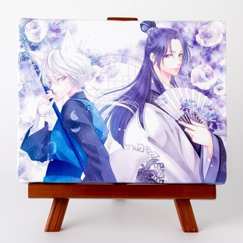 藤間麗先生「王の獣」イーゼルスタンド付きキャンバスアート(中)|ciao-shop