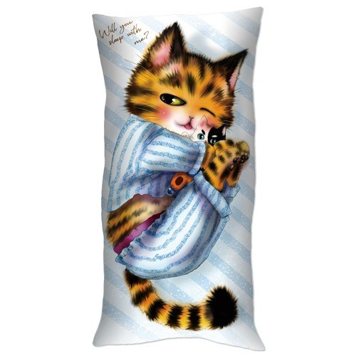 「猫mix幻奇譚とらじ」抱き枕 ciao-shop