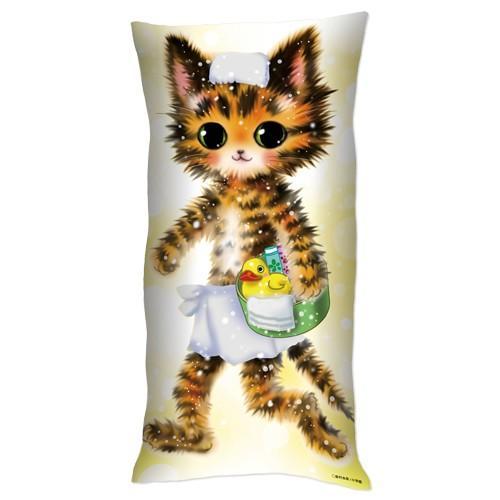 「猫mix幻奇譚とらじ」抱き枕 ciao-shop 02