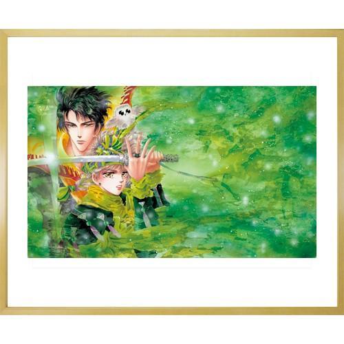 田村由美先生直筆サイン入り超高画質複製原画プリマグラフィ「BASARA A」(サイズ中) ciao-shop