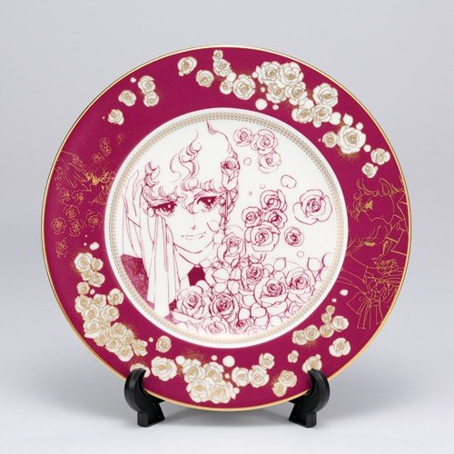 萩尾望都先生デビュー50周年記念 『ポーの一族』×Noritake コラボ特製プレートA<薔薇>|ciao-shop