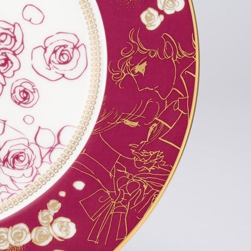 萩尾望都先生デビュー50周年記念 『ポーの一族』×Noritake コラボ特製プレートA<薔薇>|ciao-shop|04