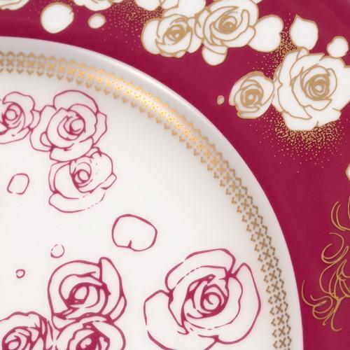 萩尾望都先生デビュー50周年記念 『ポーの一族』×Noritake コラボ特製プレートA<薔薇>|ciao-shop|06