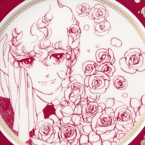 萩尾望都先生デビュー50周年記念 『ポーの一族』×Noritake コラボ特製プレートA<薔薇> :fc-fl-048:ブルームアベニュー - 通販  - Yahoo!ショッピング