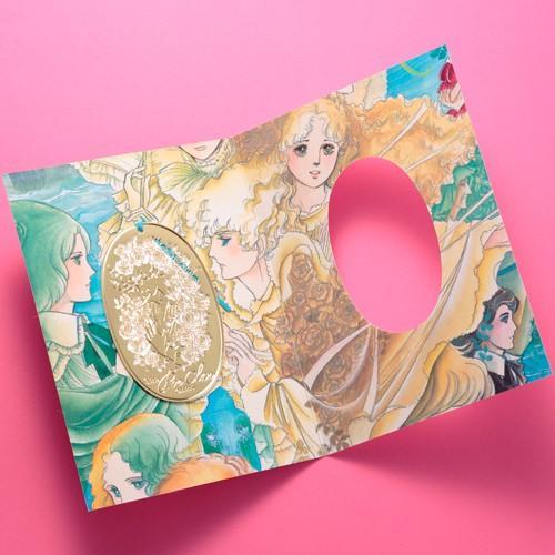 萩尾望都先生デビュー50周年記念『ポーの一族』エッチングしおりA 《薔薇》|ciao-shop|04