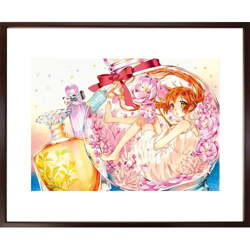 佐野愛莉先生直筆サイン入り超高画質複製原画プリマグラフィ「幼なじみと、キスしたくなくない。A」(サイズ中) ciao-shop
