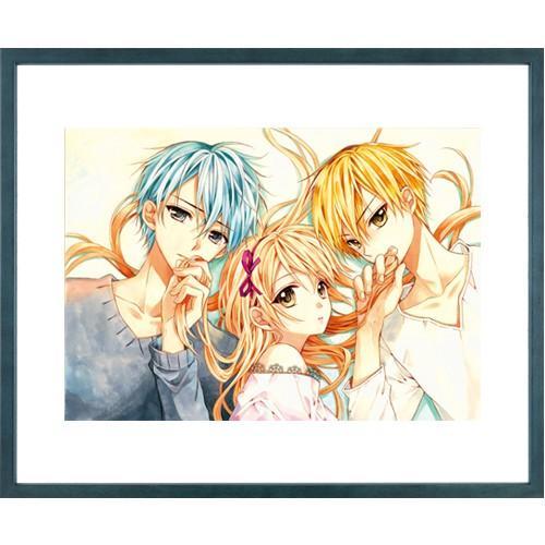 佐野愛莉先生直筆サイン入り超高画質複製原画プリマグラフィ「幼なじみと、キスしたくなくない。B」(サイズ中)|ciao-shop