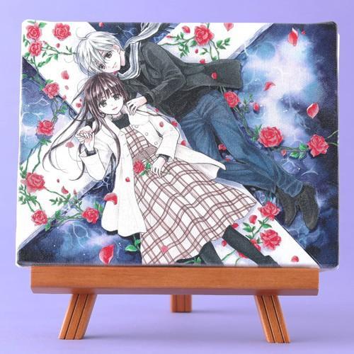 くまがい杏子先生「チョコレート・ヴァンパイア」イーゼル付きキャンバスアートA(中)|ciao-shop|02