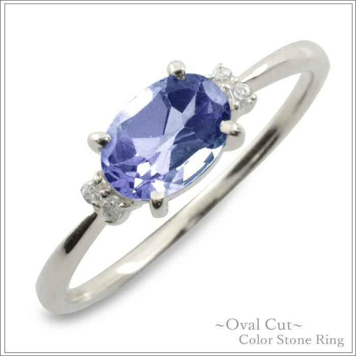 人気が高い  10金 ダイヤモンド リング 指輪 タンザナイト k10 ゴールド ピンキーリング 大粒 ホワイトゴールドk10 10k 華奢 12月 誕生石, LEVEL6 5204cbea