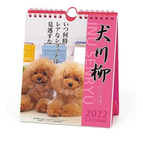 プードル 犬川柳 週めくり 大好評です 書き込み カレンダー 2022 壁掛け 暦 いぬ 2020新作 スケジュール 卓上 令和4年 ドッグ