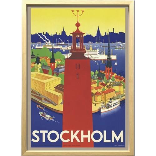 アートフレーム Scandinavian Art ストックホルム市庁舎 1936年 ZCS-52667 美工社