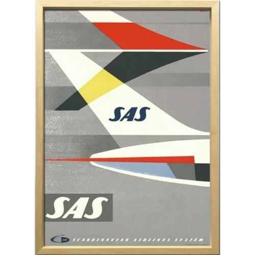 Scandinavian Art SAS 1960年ごろ アートフレーム ZCS-52671 インテリア