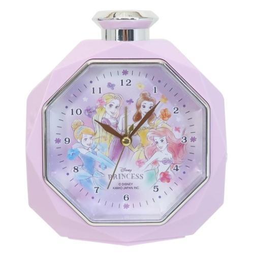 ディズニープリンセス キャラクター 目覚まし時計 セール開催中最短即日発送 クロック ディズニー パフューム型 ラッピング無料