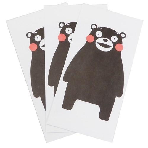 くまモン 祝儀袋 大 3枚セット グッズ キャラクター 金封 ゆるキャラ フロンティア 定番スタイル ポチ袋 WEB限定