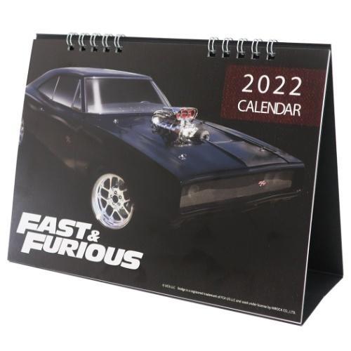 ワイルドスピード9 ジェットブレイク デスクトップ カレンダー 2022 数量は多 卓上カレンダー ユニバーサル映画 2022年 開催中 グッズ キャラクター