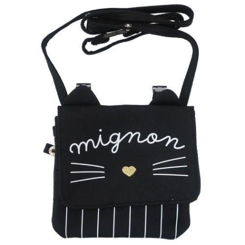 移動ポケット ショルダー付き どこでもポッケ キャンペーンもお見逃しなく MIGNON !超美品再入荷品質至上! CAT カミオジャパン クリップポーチ