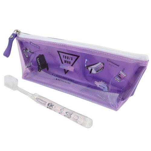 LIKEオルチャン 贈物 市販 デンタルセット ポーチ付き 歯ブラシセット カミオジャパン