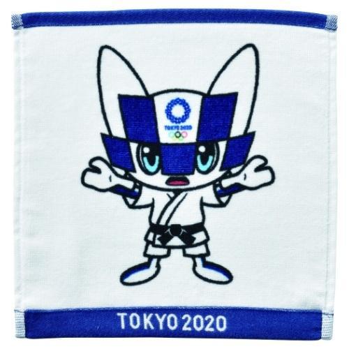 東京2020 オリンピック 商舗 ミニタオル インクジェットプリント 柔道 ミライトワ 公式通販 ハンカチタオル 丸眞