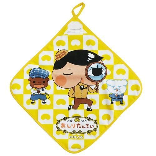 お気にいる おしりたんてい ループ付き 幼稚園 ハンドタオル チープ キャラクター グッズ 2nd ループタオル