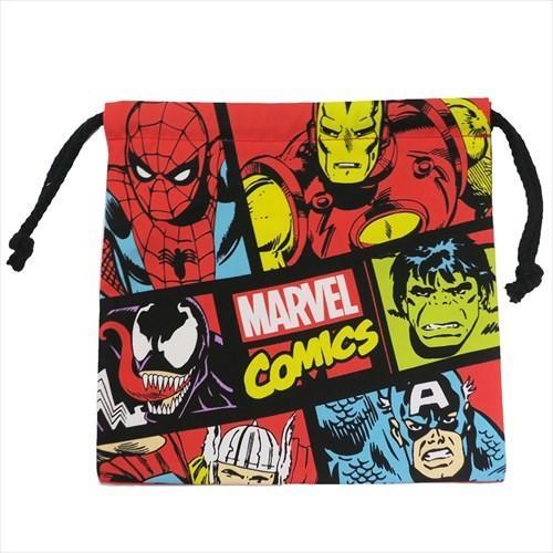 巾着袋 コミック マーベル 小物入れ Marvel キャラクター グッズ スモールプラネット Sm Spkn1526キャラクターのシネマコレクション 通販 Yahooショッピング