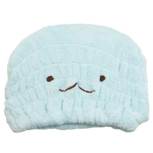 タオルキャップ すみっコぐらし 安値 期間限定の激安セール ヘアドライタオル帽子 サンエックス とかげ キャラクター プール お風呂上り 海 サマーレジャー用品