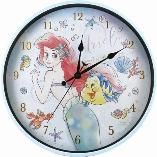 リトルマーメイド アリエル壁掛け時計