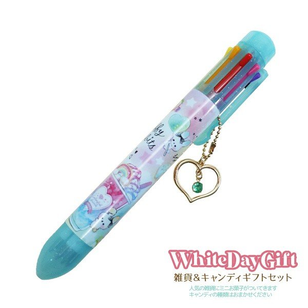[ボールペン]8色ボールペン