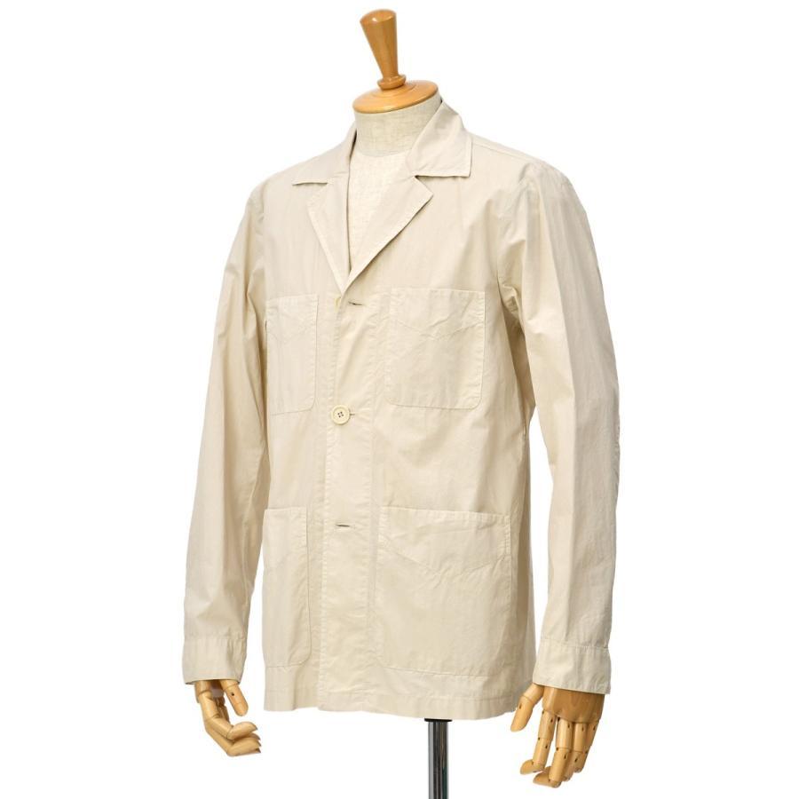 【sizeS,M】ASPESI【アスペジ】ワークシャツジャケット 0192-ACJ24G329 5044 コットン ベージュ|cinqessentiel