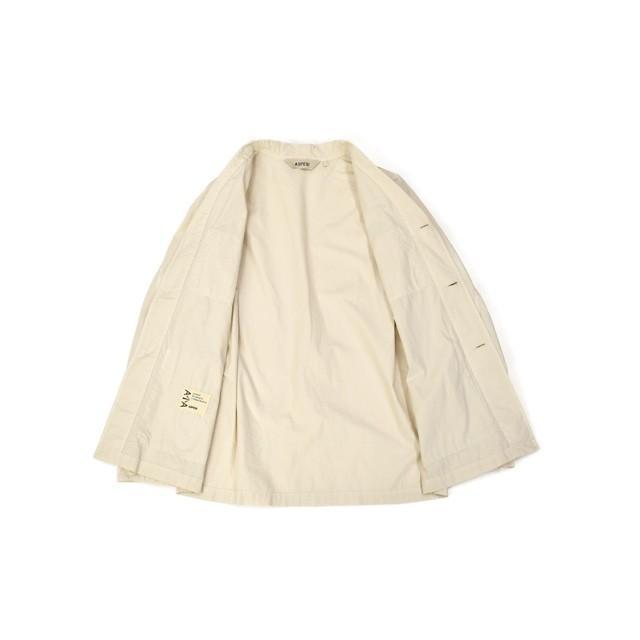 【sizeS,M】ASPESI【アスペジ】ワークシャツジャケット 0192-ACJ24G329 5044 コットン ベージュ|cinqessentiel|07