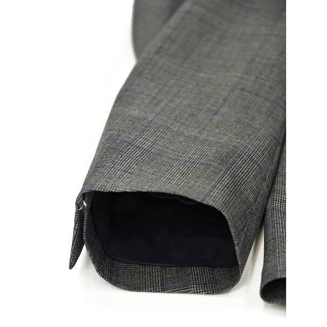 LARDINI【ラルディーニ】パッカブルスーツ グレンチェック EASY JT091AQ/ELEW56713/920BL ウール グレー cinqessentiel 04