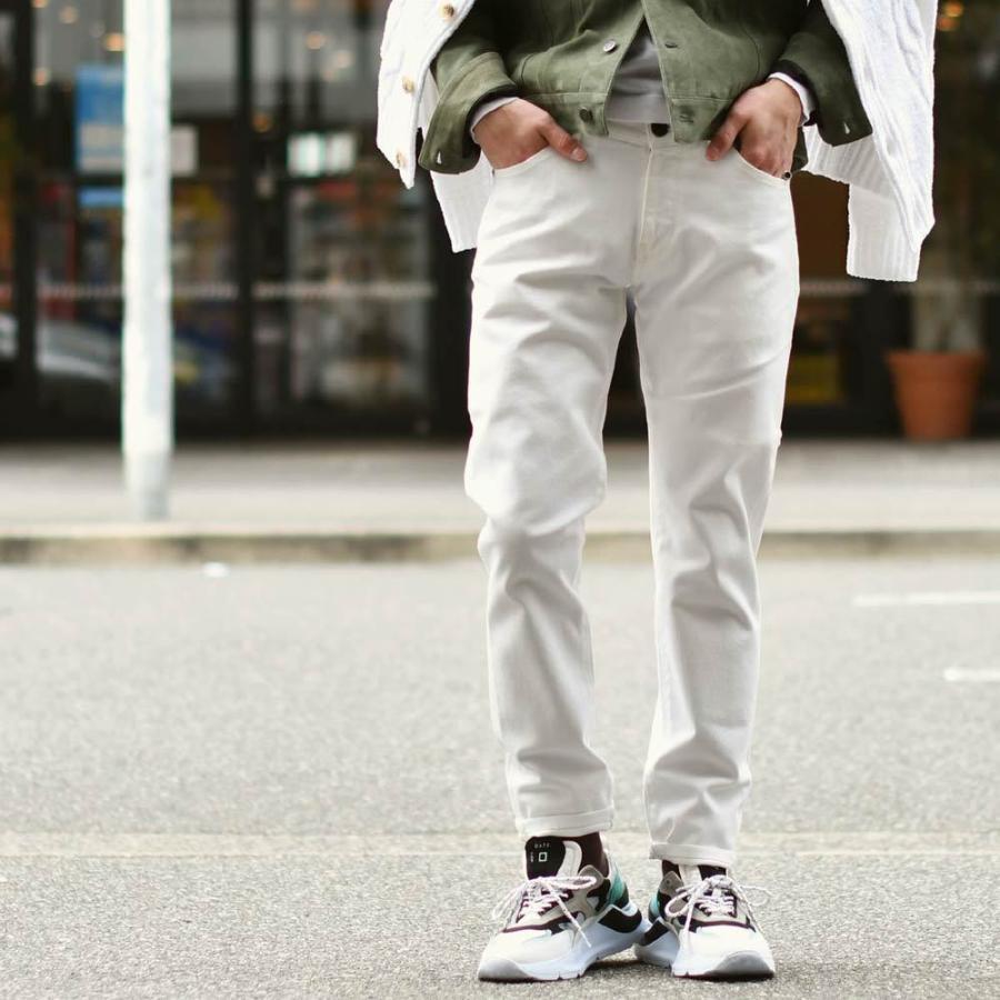 D.A.T.E.【デイト】ダッドスニーカー FUGA DOLMIAS M321-FG-DO-GY ヌバックレザー スムースレザー ナイロン ホワイト グレー ティールブルー cinqueunaltro 07