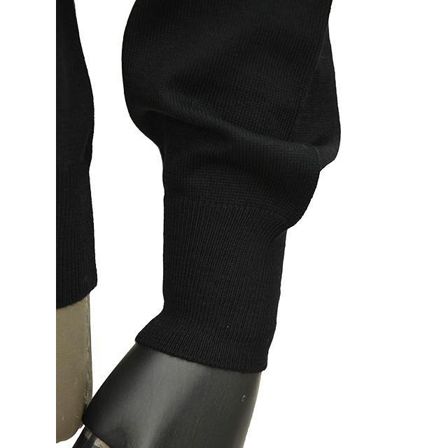 GRAN SASSO【グランサッソ】モックネックニット 55108 14290 099 ウール ブラック|cinqueunaltro|05