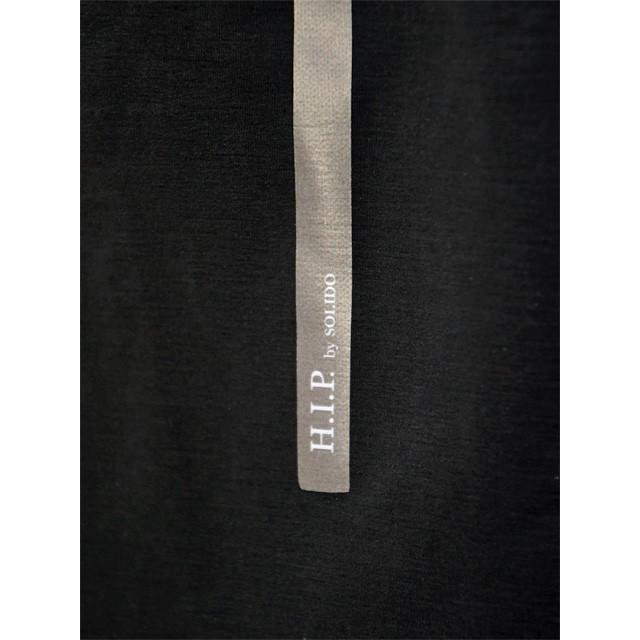 【size02,03】H.I.P.by SOLIDO【エイチアイピーバイ ソリード】MA-1型ブルゾン MSH20S412 ポリエステル ナイロン ブラック cinqueunaltro 07
