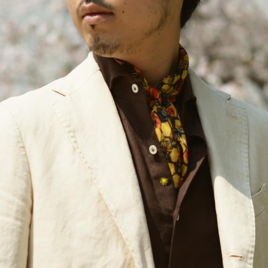 【size46,48,50】THE GIGI【ザ ジジ】シングルジャケット ART K603 200 リネン オフベージュ|cinqueunaltro|10