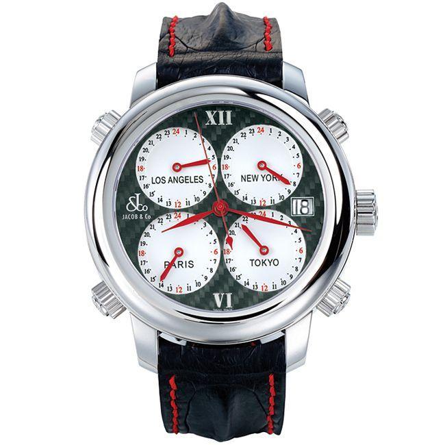日本に ジェイコブ オートマティック ウォッチ シルバー ブラック H-24SSCF シルバー Jacob&Co. ウォッチ Jacob&Co. Automatic Watch Silver Black H-24SSCF, 佐多町:ccb78f3d --- airmodconsu.dominiotemporario.com